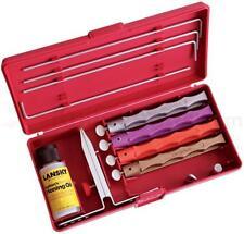 Lansky 4 Stone Deluxe Diamond Knife Sharping System Kit