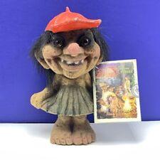 Nyform Norway troll gnome witch monster elf nyfoam fuzzy figurine doll baseball