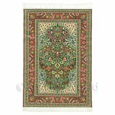 Dolls House Medium 17th Century Rectangular Carpet / Rug (17nmr12)