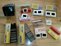 Lot of 100 Vintage 35mm Slides Mixed. Cars-Singing-Travel 1960, 70s 5 New Blanks