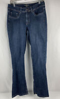 Riders By Lee Womens Jeans Size 10 Medium Mid Rise Boot Cut Denim Jeans