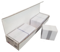 500 Blank White PVC Cards, Plastic ID Cards - CR80 30 Mil