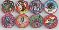 New listing 8 - $5.00 Superbowl Commemorative Casino Chips from Las Vegas, Nv - 1995-1997