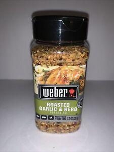 Weber Roasted Garlic & Herb Seasoning Gluten Free 7.75 OZ 220 g Chicken Pork New