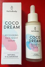 Hello Body Coco Dream Recovering Face Night Serum Gesichts Nachtserum NEU/OVP