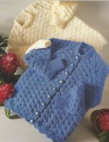 """Baby, Boys and Girls Cardigan and Sweater Knitting Pattern 22-31"""" DK 1017"""