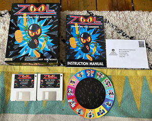 Zool Amiga A1200 commodore Game Boxed With Manual VGC