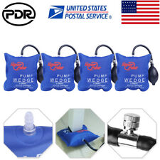 4× US Automotive Pump Wedge PDR Air Pump F Car Door Window Inflatable Hand Tools