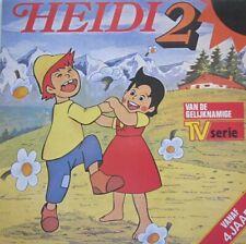 HEIDI - DEEL 2 -  HEIDI BIJ OPA OP DE ALPENWEIDE  -  LP