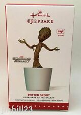 2015 Hallmark - Potted Groot - Guardians of the Galaxy - Jackson 5 Marvel - NEW