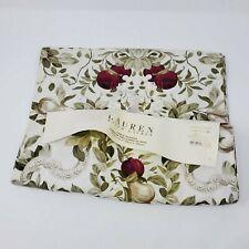 Lauren Ralph Lauren Brookfield Floral Print Table Runner 15 X 72 Retired