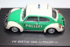 Universal Hobbies 1:43 Scale VOLKSWAGEN VW BEETLE 1301 POLIZEI