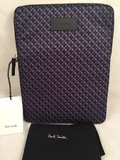 Paul Smith Man Bag iPad Case Made In Italy SLV Bskgeo RRP£145