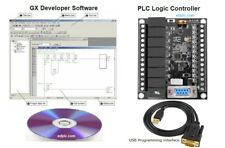 Plc Professional Training Starter Kit Ladder Logic W Programming Software Usb Us