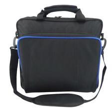 Shoulder Bag Carrying Case Backpack for PlayStation 4 PS4 Pro Game Console Black