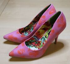 IRON FIST Aloha Bitches Heel / Pink Pumps, High Heels,Gr. 38, NEU & OVP