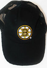 Boston Bruins NHL Black Cotton Hockey Baseball Cap Sports Hat One Size