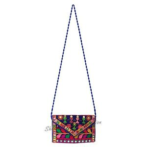 Antique Elegant Handmade Embroidered Cross body bohemian Bag With Free Shipping