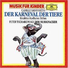 KARLHEINZ BÖHM - KARNEVAL DER TIERE/DER NUSSKNACKER  CD NEW+