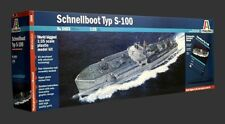 ITALERI 1/35 SCALE PLASTIC MODEL KIT SCHNELLBOOT TYP S-100 IT05603