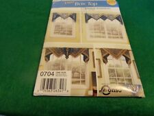 SIMPLICITY EASY BOX TOP WINDOW TREATMENTS PATTERN HOME DECORATING 0704