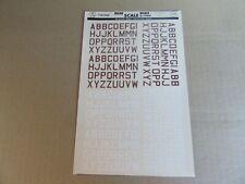 DEC024 Décal POSTES grosses lettres pour Peugeot D3A Toys 25BV