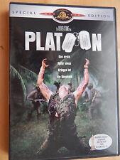 PLATOON von O. Stone mit Charlie Sheen, Tom Berenger, Willem Dafoe, Johnny Depp