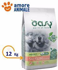 Oasy Dry Dog  Adult Salmone 12 KG - Alimento per cani adulti taglia media