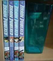 Brain Powered 1-4 Full Set, Lot of 4 Shonen Manga, English, 13+