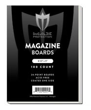 Case of 1000 Max Pro Acid Free Magazine Backing Boards white backers Archival