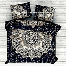 Indian Ombre Mandala Duvet Doona Cover Bedding Blanket Quilt Cover Comforter Set