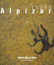 RUBEN ALPIZAR, Entre el cielo y la tierra, 2000. Cuban Art Painting Catalog