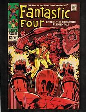 Fantastic Four #81 ~ Crystal Joins/ Dons Costume ~ 1968 (7.5) WH