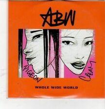 (CZ101) Addis Black Widow, Whole Wide World - 2001 DJ CD