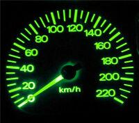 Green LED Dash Gauge Light Kit for Holden WB HQ Sedan Wagon Van Ute Statesman