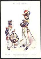 Chromo Advertising To Good Marche Empire Drum Grenadier Roger Ginger