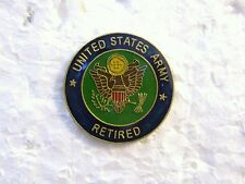 HAT PIN - UNITED STATES ARMY RETIRED HAT PIN
