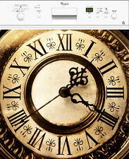 Adhesivo Lavavajillas REPOSICIONABLE decoración Reloj 60x60cm Ref 153
