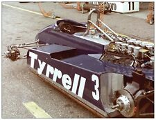 Postcard Tyrrell 011 1982  #3 Michele Alboreto, Zandvoort