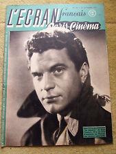 l'écran français paris cinema, n°118  septembre 1947