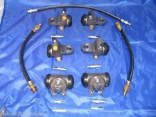 6 Wheel Cylinders Brake Hoses 51 52 53 54 55 DeSoto 1951 1952 1953 1954 1955