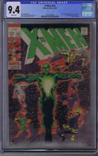 X-Men # 55 Marvel 1969 CGC 9.4 (NEAR MINT ) Origin of Angel, WHITE PAGES