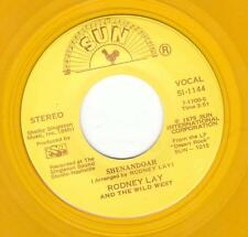 RODNEY LAY – 7 INCH 45 RPM GOLD SUN INTL – SHENANDOAH/BACK IN THE SADDLE – NM