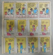 (79) Color! Doonesbury Dailies by Gb Trudeau 5/28-9/4,1976 Size: 3 x 8 inches