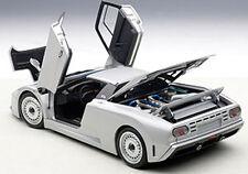 Autoart BUGATTI EB110 GT DARK SILVER Color in 1/18 Scale. New Release! In Stock!