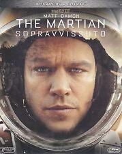 Blu-ray 3D + Blu-ray 2D «THE MARTIAN ♦ SOPRAVVISSUTO» di Ridley Scott nuovo 2015