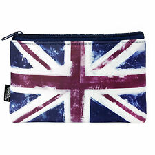Monster Stationery - Neoprene Pencil Case - Distressed Flag - Union Jack