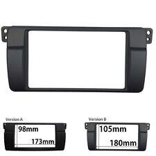 Double Din Trim For BMW E46 Stereo Panel DVD GPS Adaptor Refitting Dash Kit