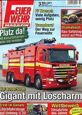 Feuerwehr Magazin! Nr. 3 März 2011!Top Zustand!Ungelesen!!