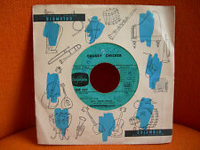 VINYL 45 T – CHUBBY CHECKER : LET'S TWIST AGAIN + DANCE THE MESS AROUND + 2 – 61